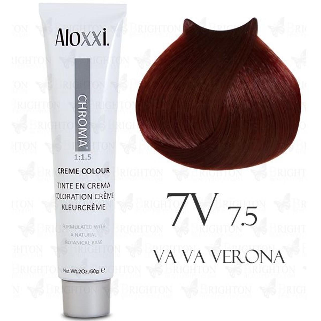 Aloxxi Hair Color 7V 2 oz