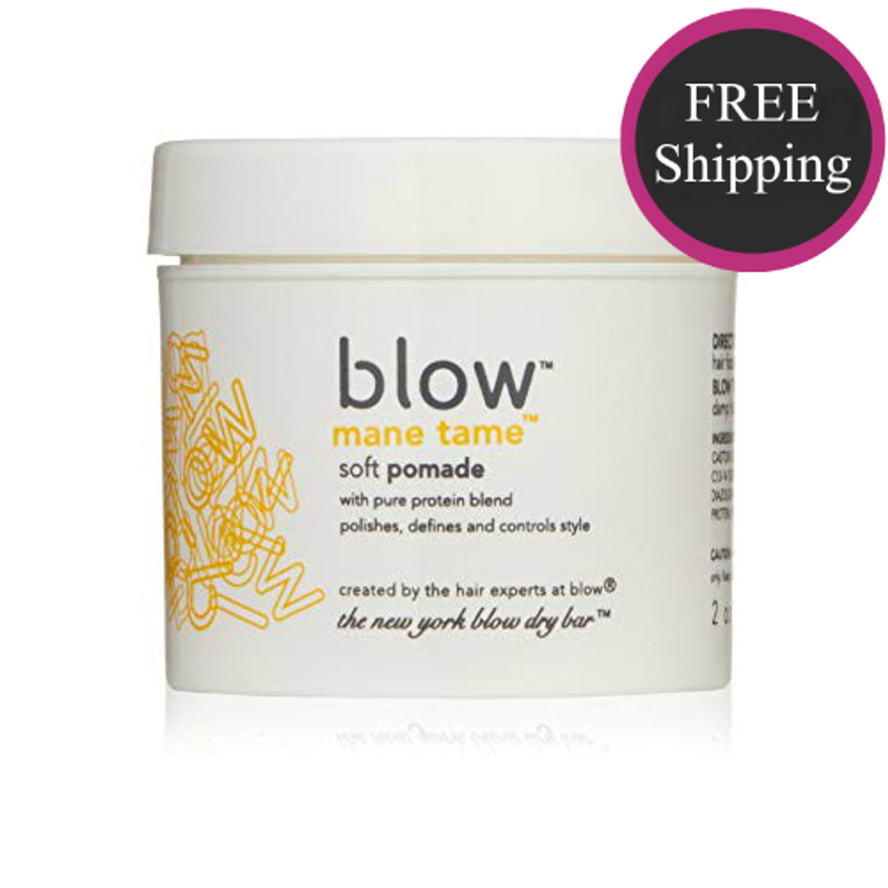 Blow Mane Tame Soft Pomade 2 oz: Free shipping