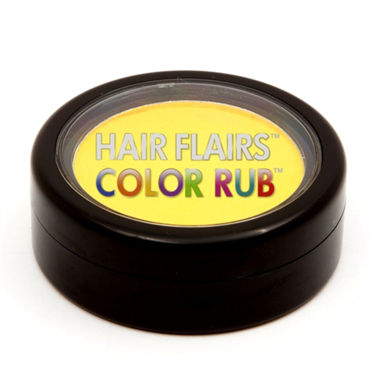 Hair Flair Color Rub - Yellow Spark