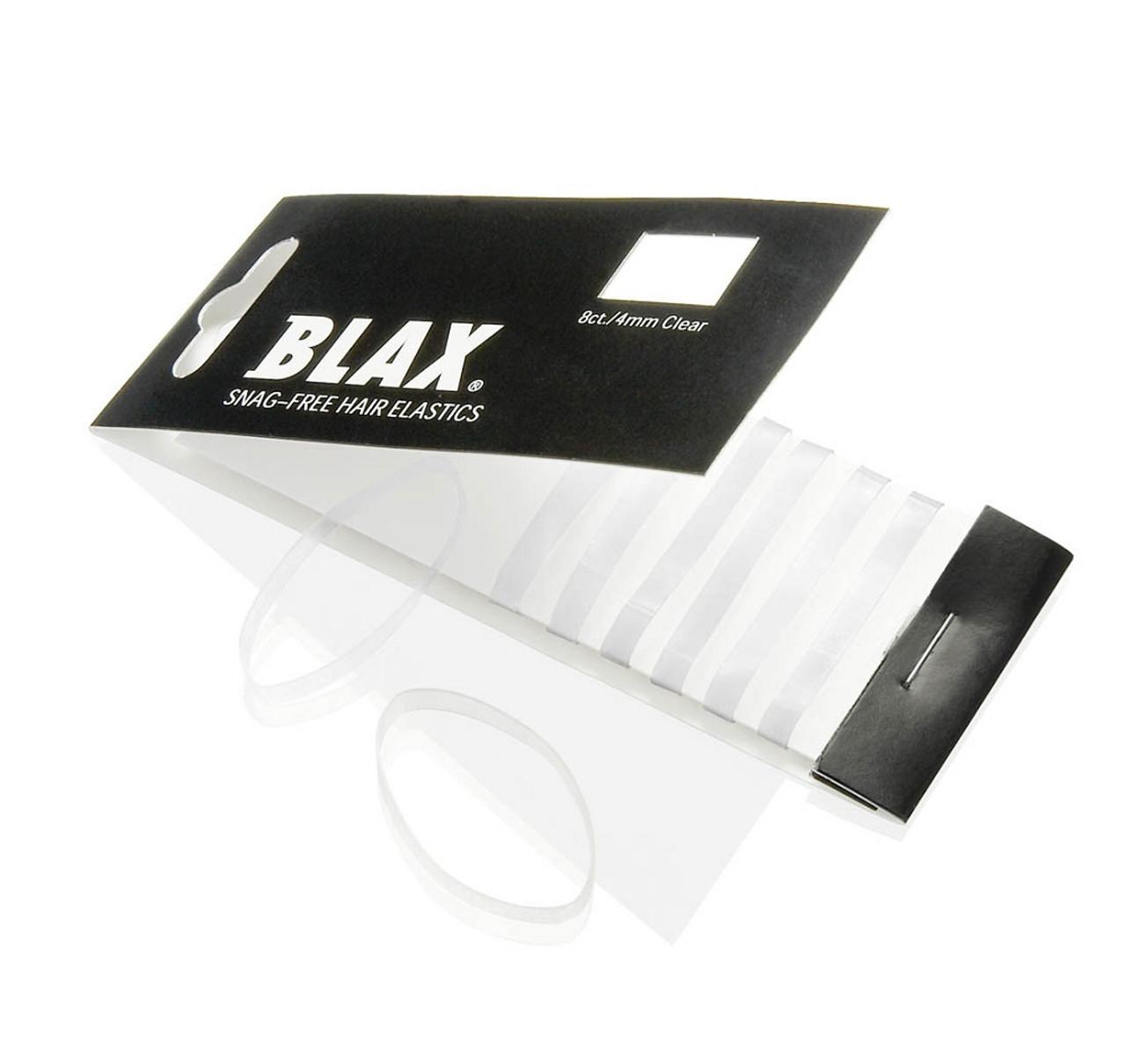 Blax 2Mm Clear Hair Elastics