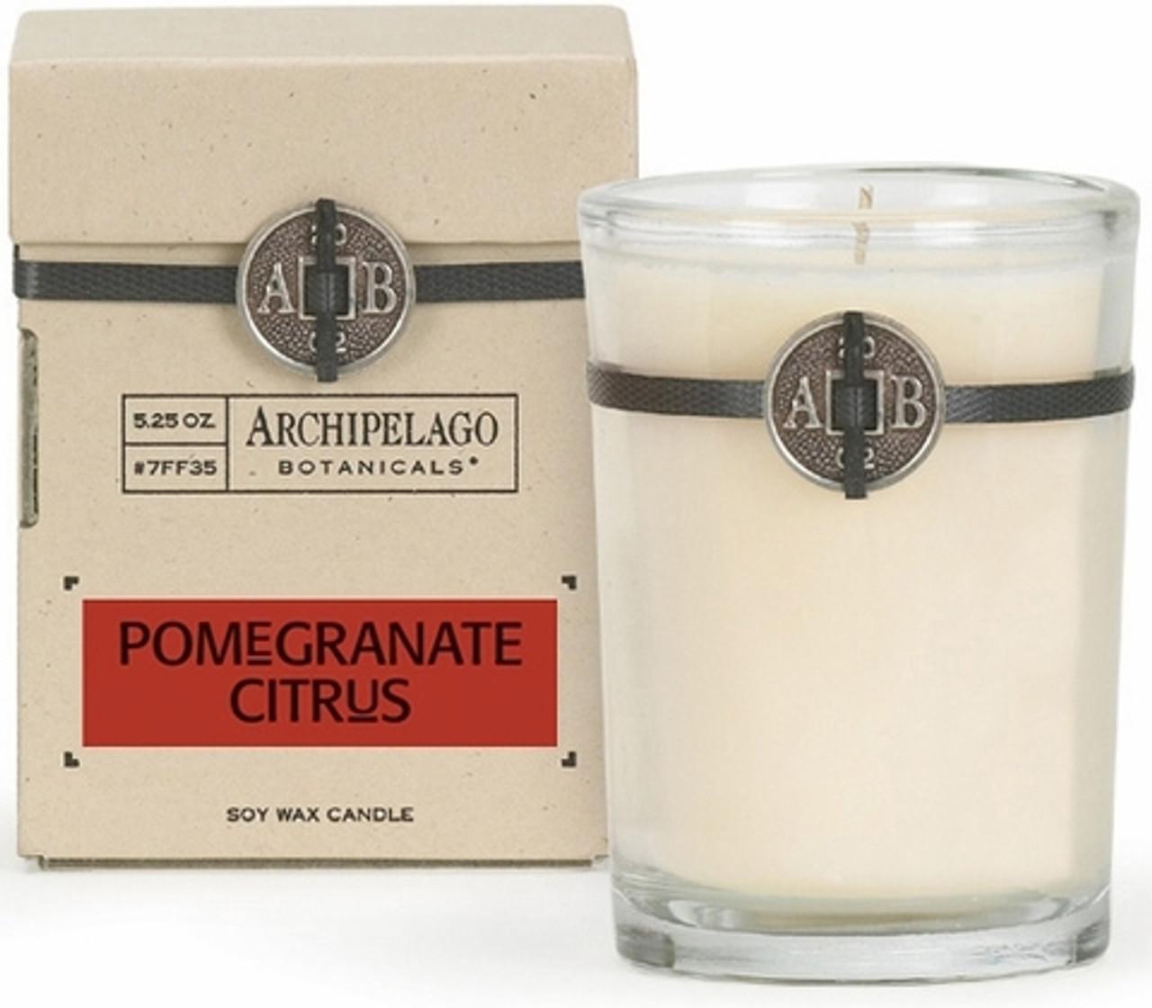 Archipelago Pomegranate Citrus Soy Candle