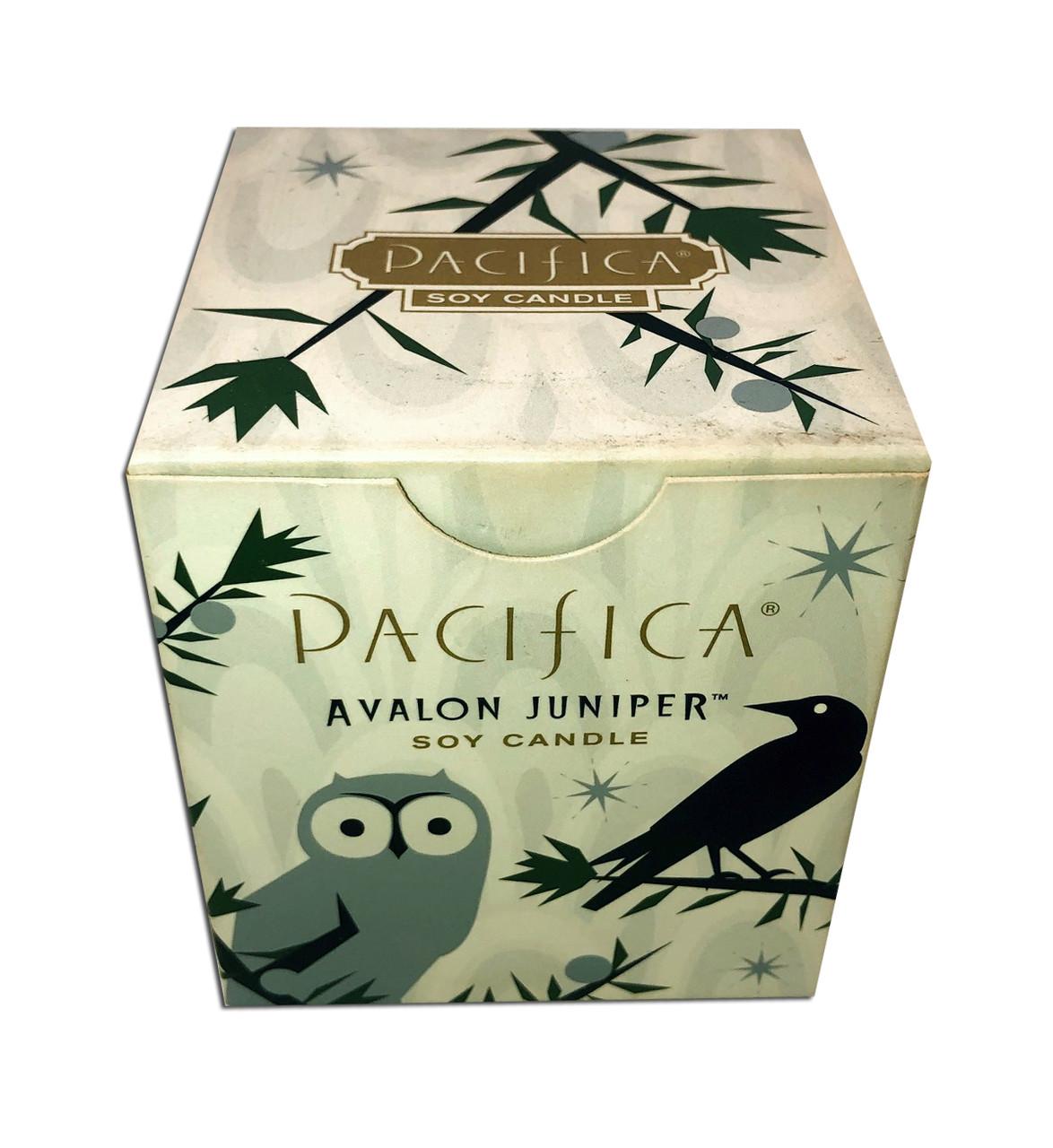 Avalon Juniper 5.5 Oz Soy Box