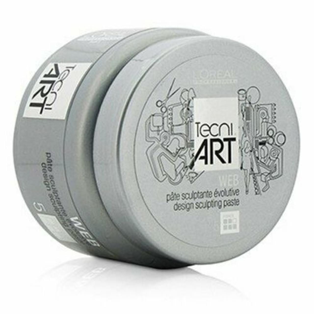 L'Oreal Professionnel Tecni. Art A Head Web - Design Sculpting Paste- 5 oz