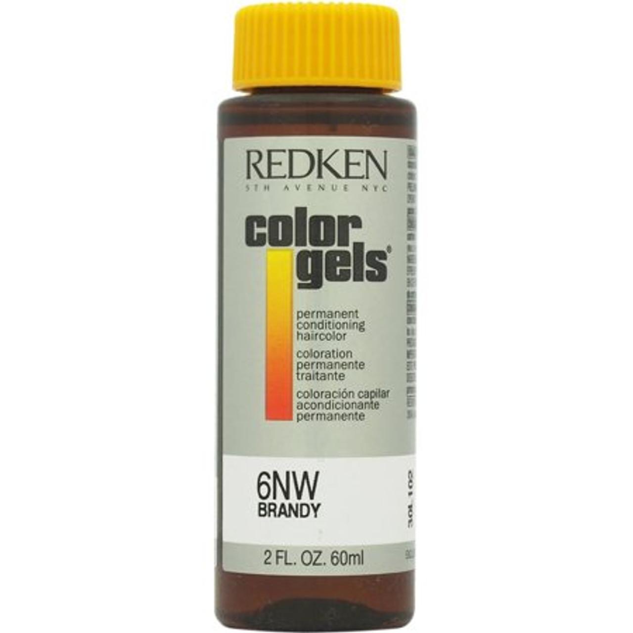 6Nw Brandy Color Gel Redken 2 oz