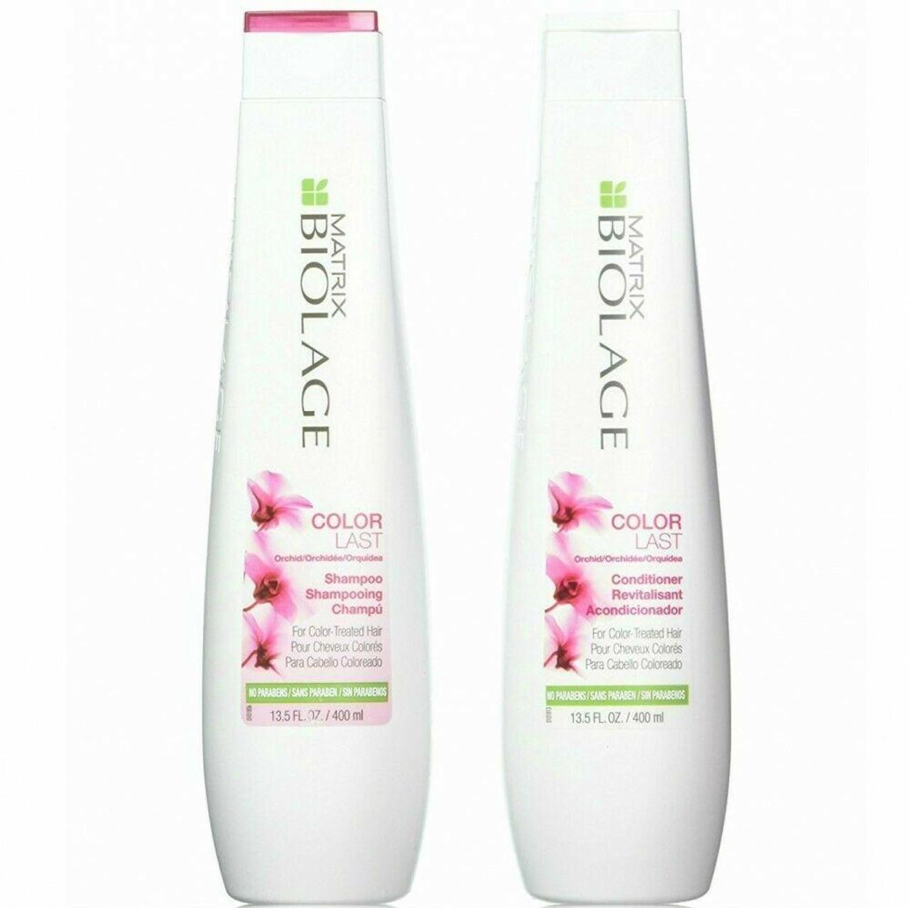 Biolage Color Last Orchid Shampoo Conditioner Duo 13.5 oz