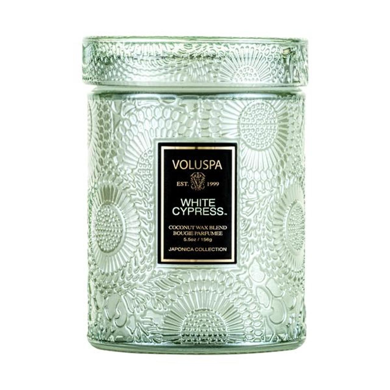Voluspa White Cypress Mini Jar