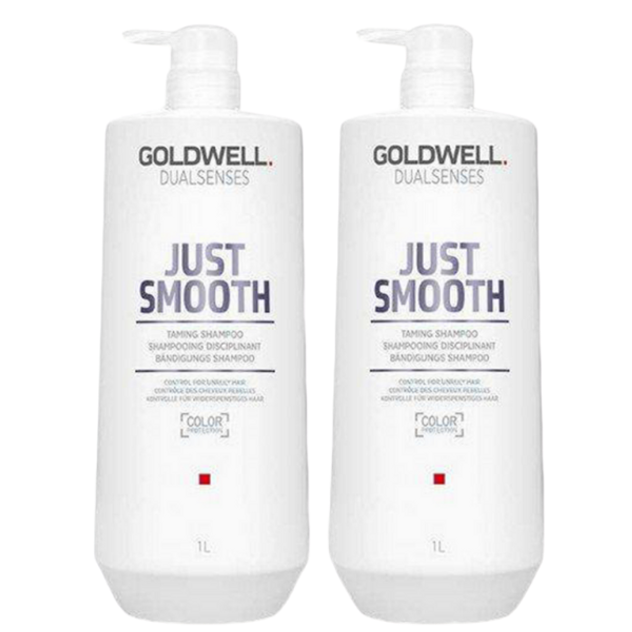 Goldwell Dual Senses Just Smooth Shampoo & Conditioner Liter Duo