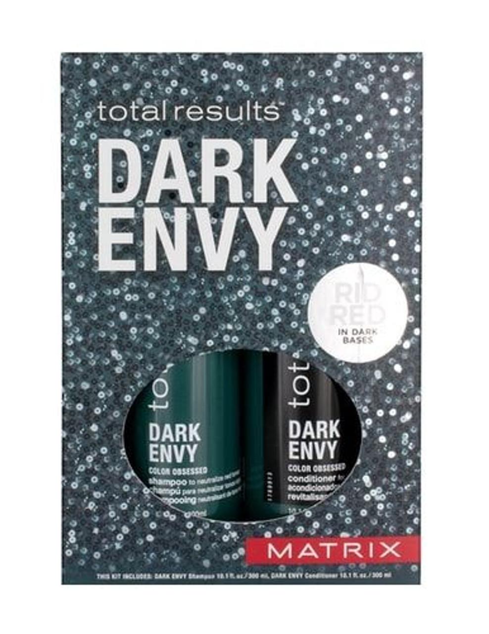 Matrix Total Results Dark Envy Shampoo 10.1 oz Conditioner 10.1 oz Gift Set