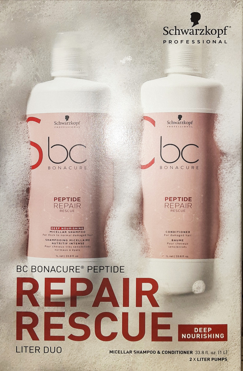 Bonacure Peptide Repair Rescue Liter Duo
