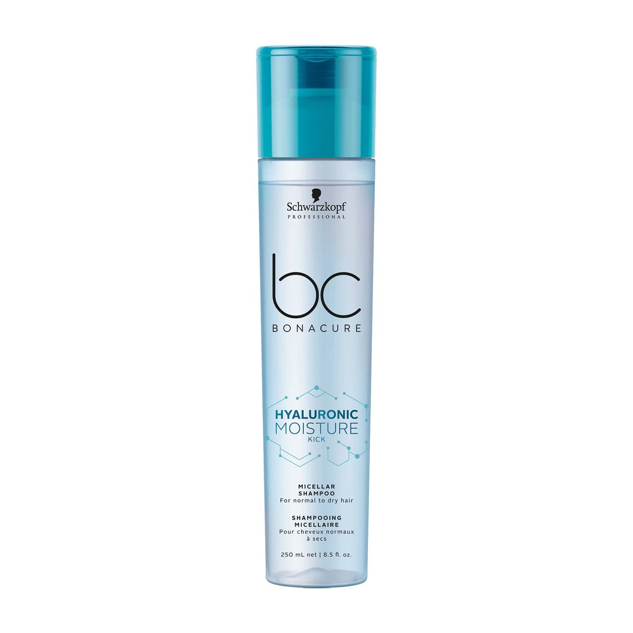 Schwarzkopf Bonacure Hyaluronic Moisture Kick Micellar Shampoo 8.5 Oz