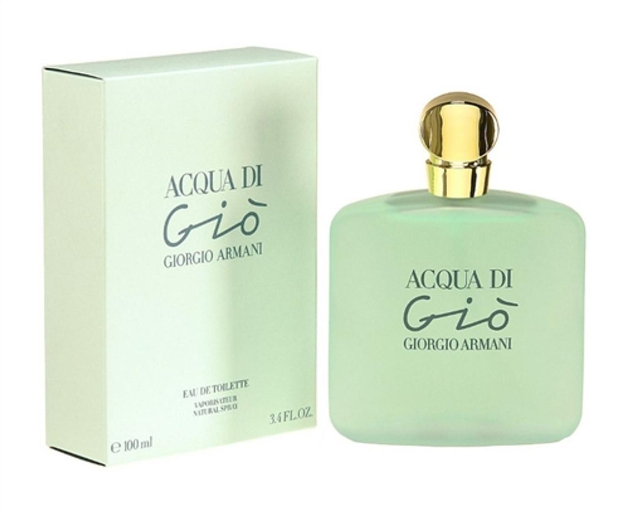 Acqua di Gio Eau de Toilette for Women by Giorgio Armani - 3.4 OZ