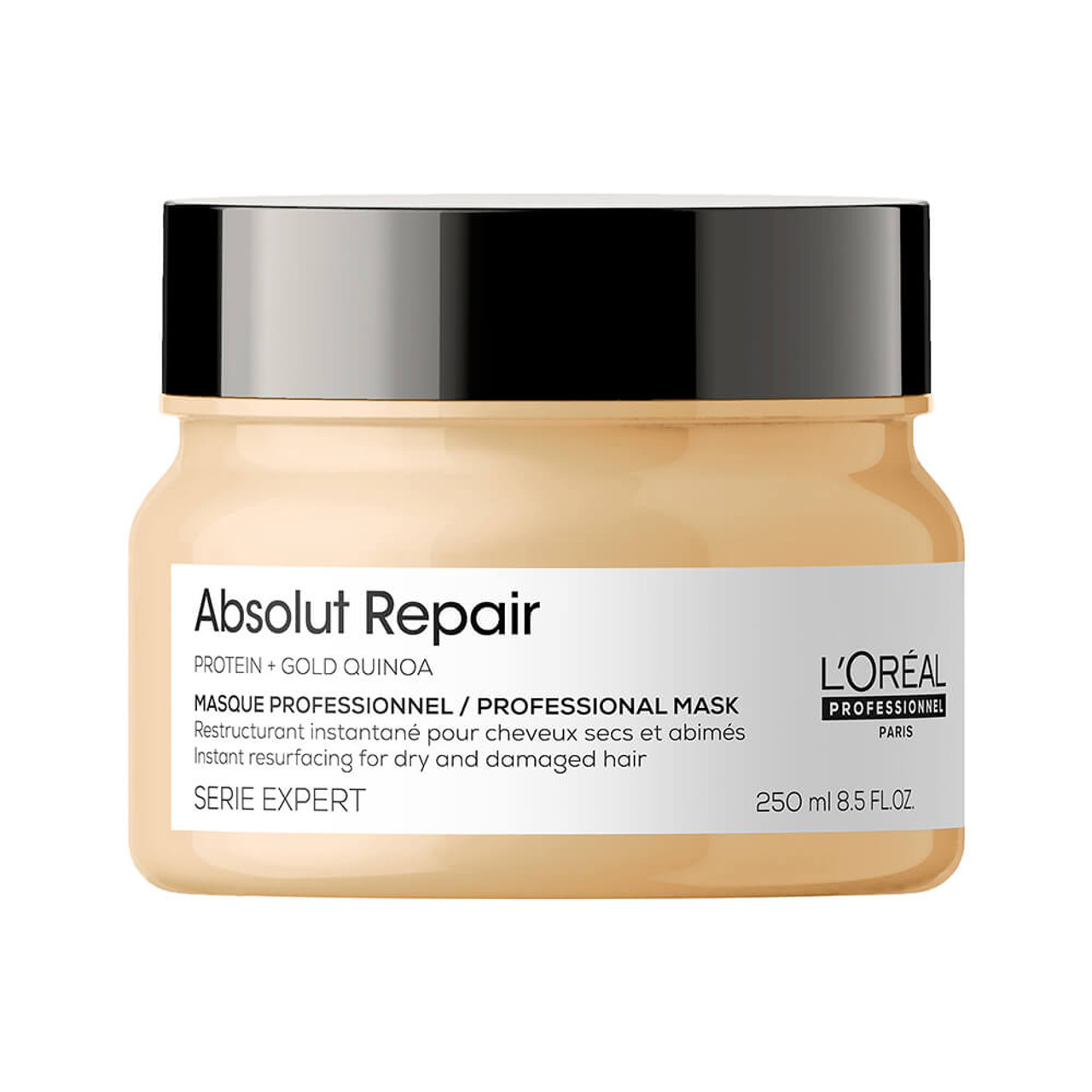 L'Oreal Professionnel Serie Expert Absolut Repair Gold Quinoa + Protein Deeply Regenerating Mask for Dry and Damaged Hair 250 Ml
