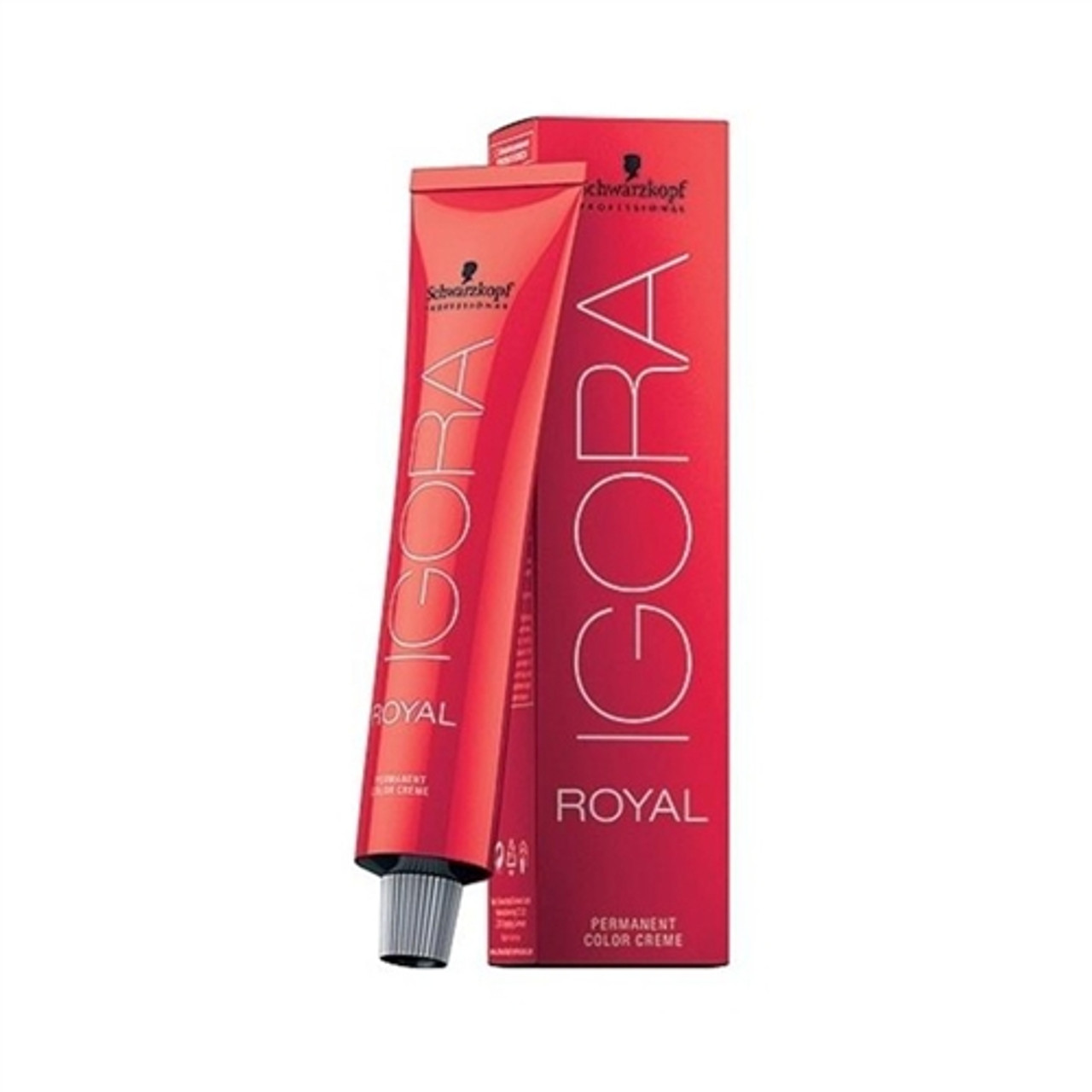 1-0 Black Igora Royal Permanent Color Creme -