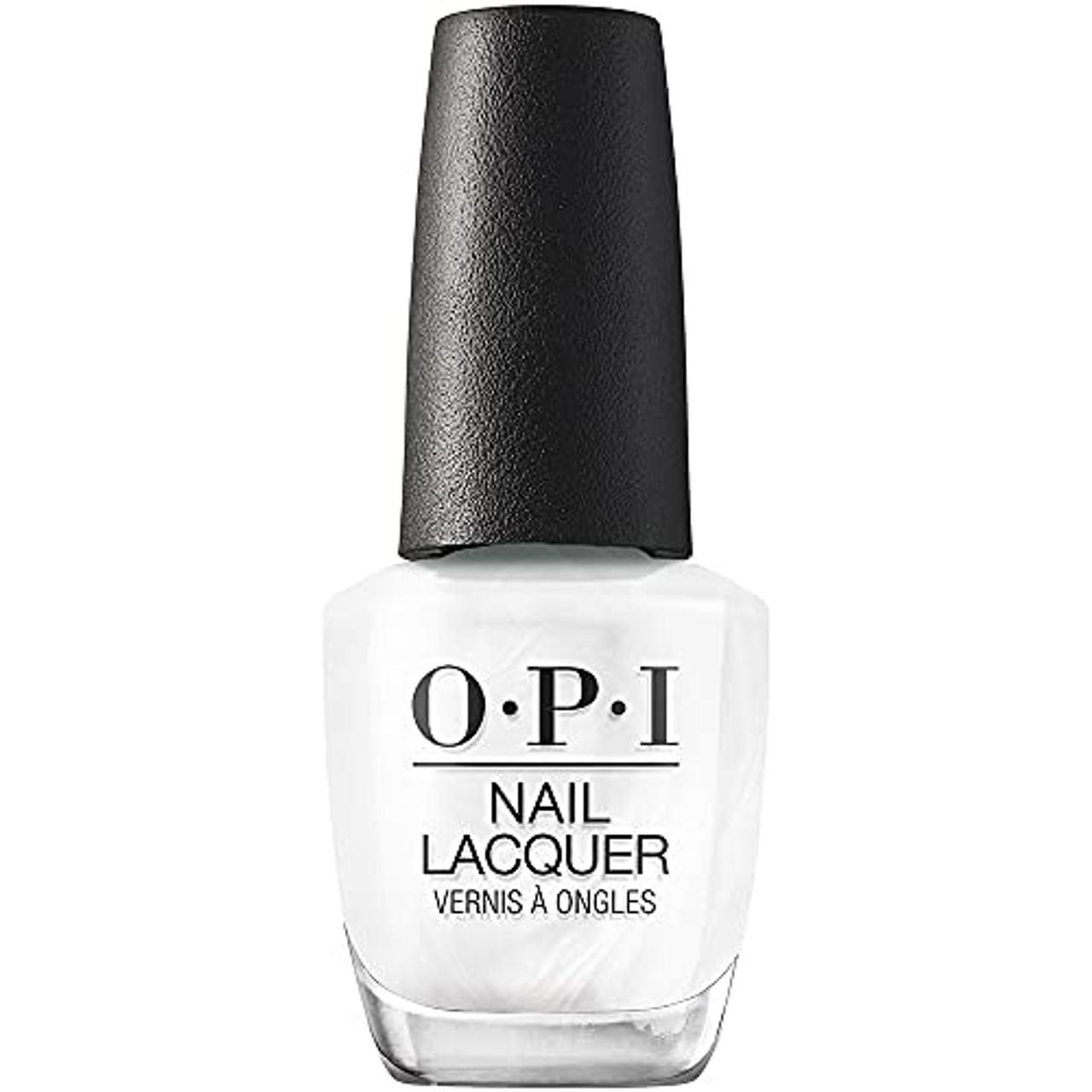 OPI Nail Lacquer Nail Polish - Snow Day In LA 0.5 Oz White