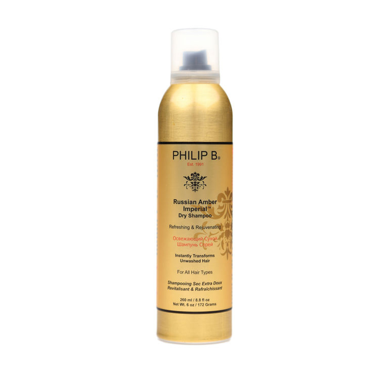 Philip B Russian Amber Imperial Dry Shampoo 8.8 oz