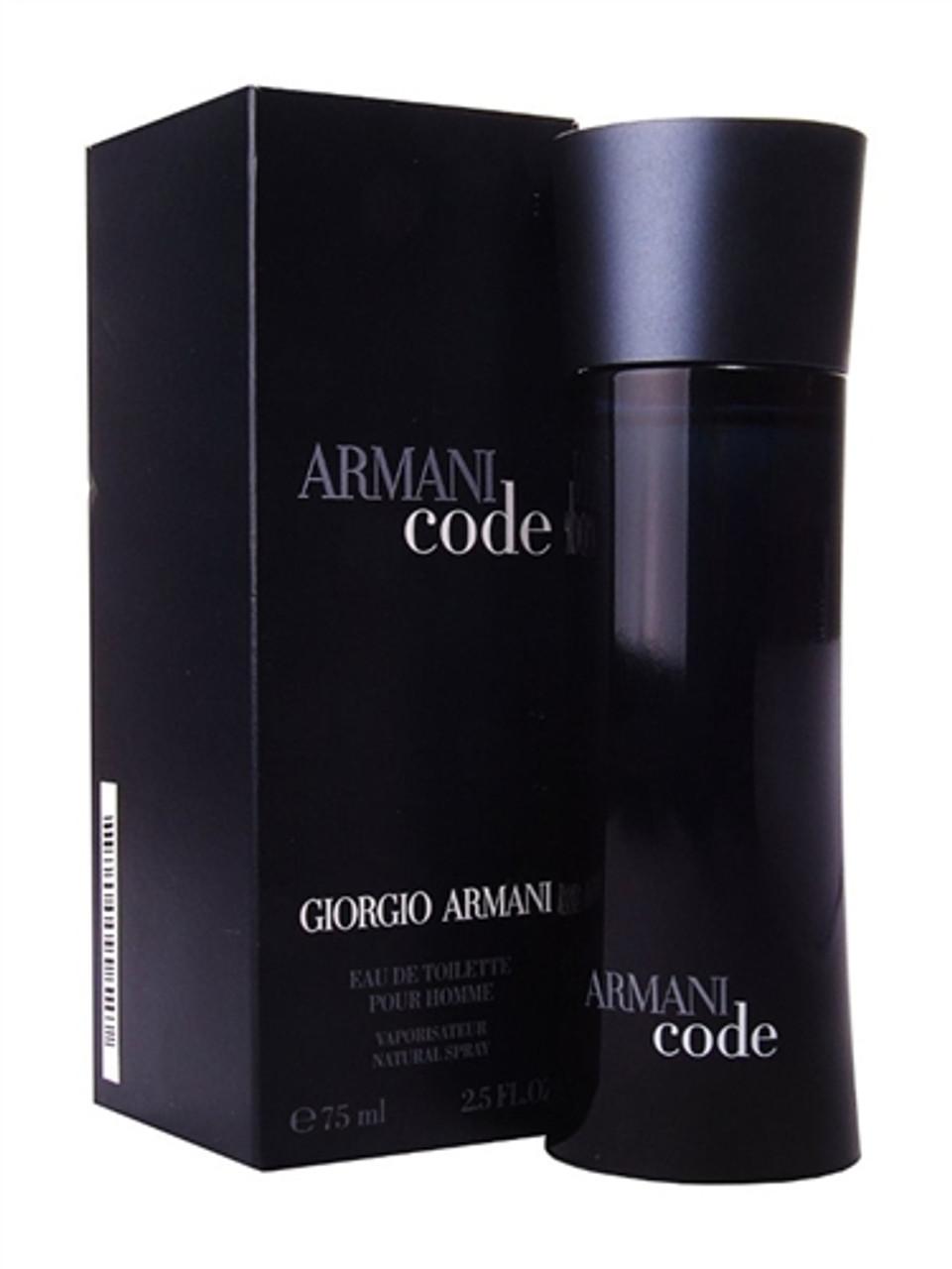 Giorgio Armani Code Eau de Toilette for Men - 2.5 OZ