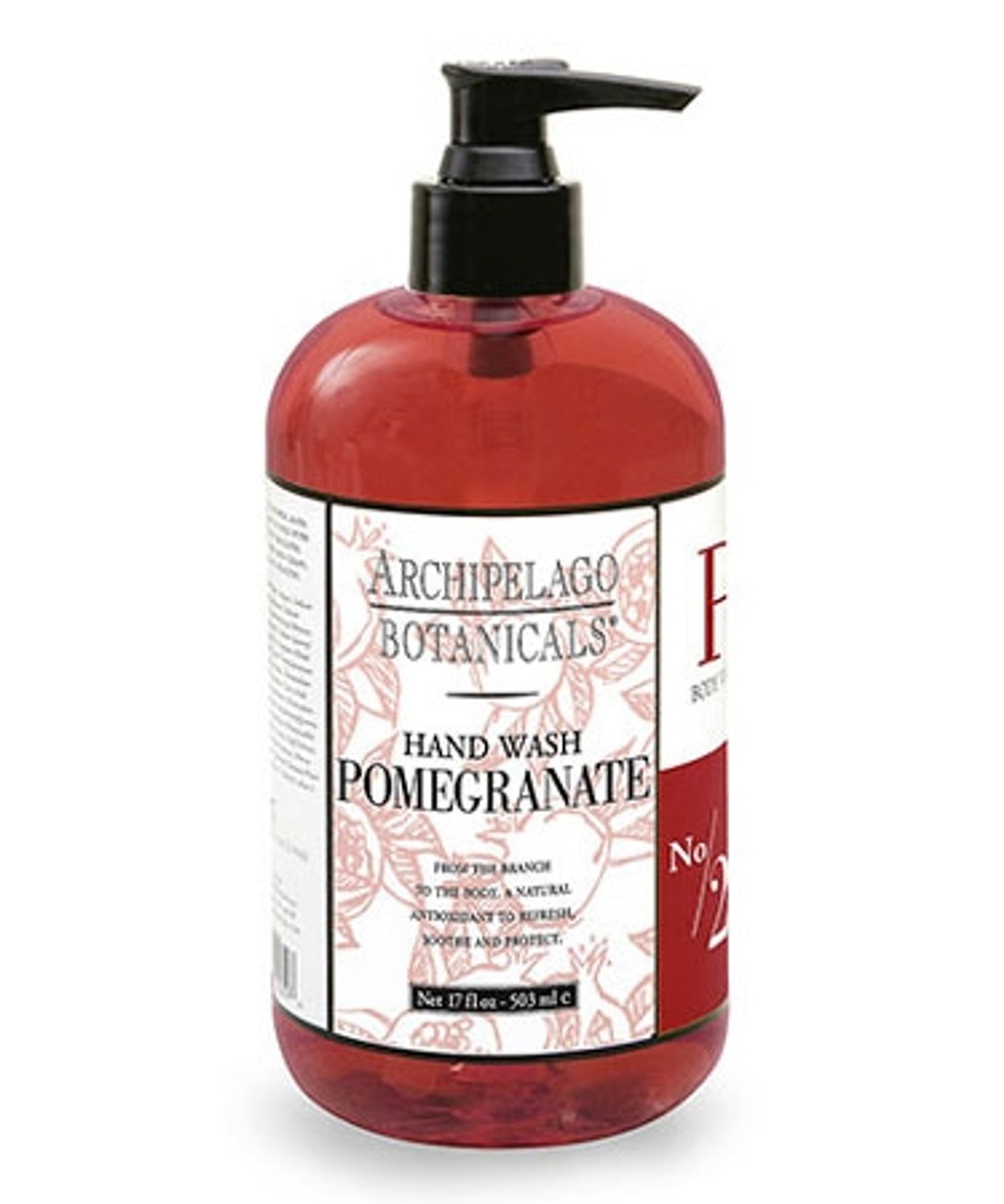 Archipelago Pomegranate Hand Wash 17 oz