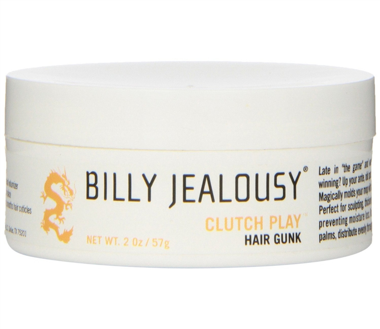 Billy Jealousy Clutch Play Hair Gunk
