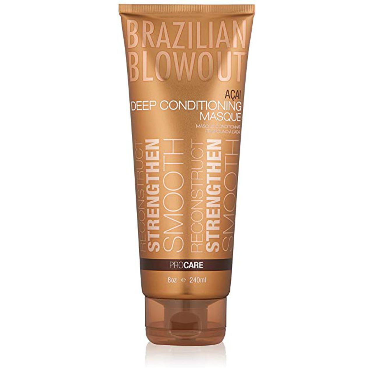 Brazilian Blowout Deep Conditioning Masque 8 oz