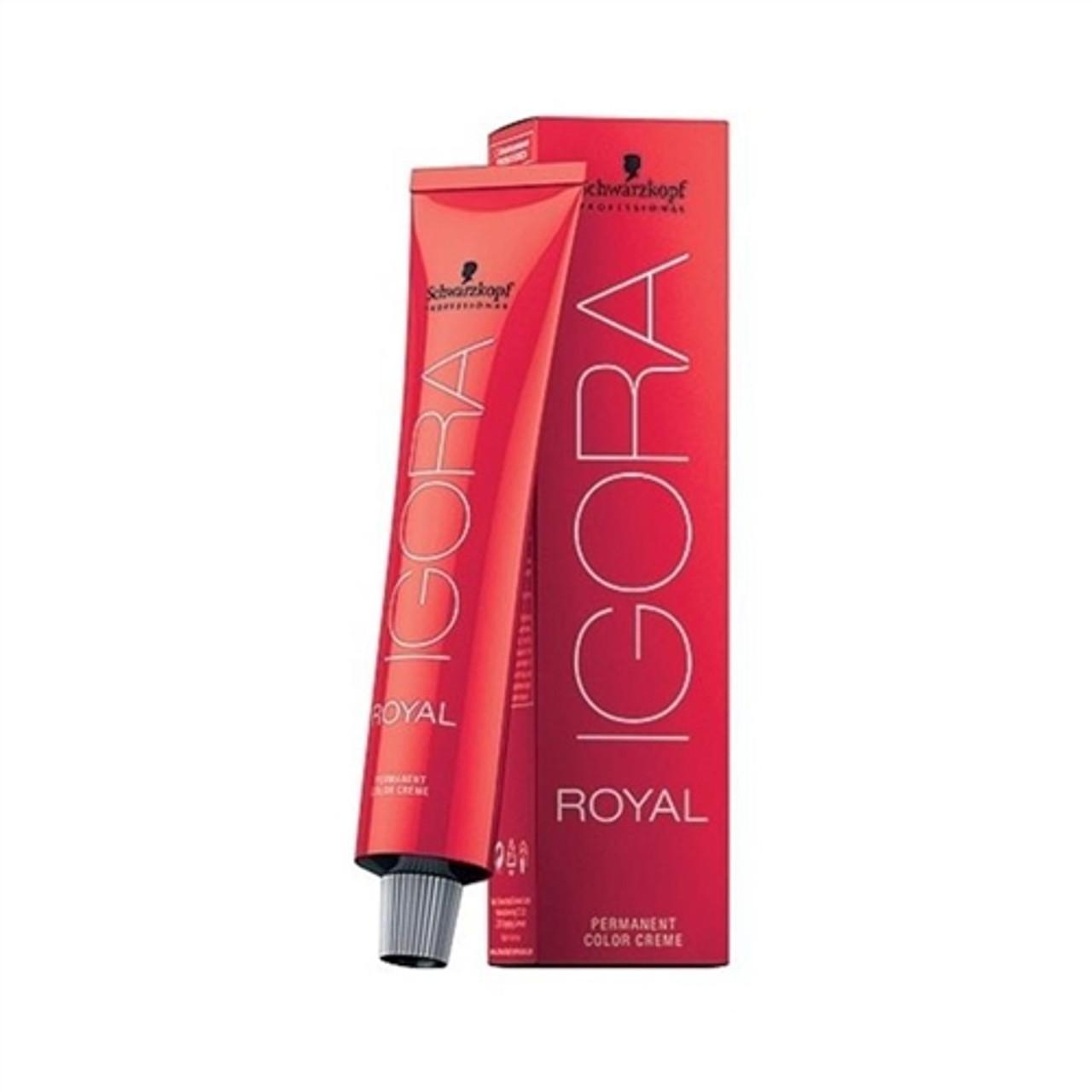 7-55 Medium blondee Gold Extra Igora Royal Permanent Color Creme -