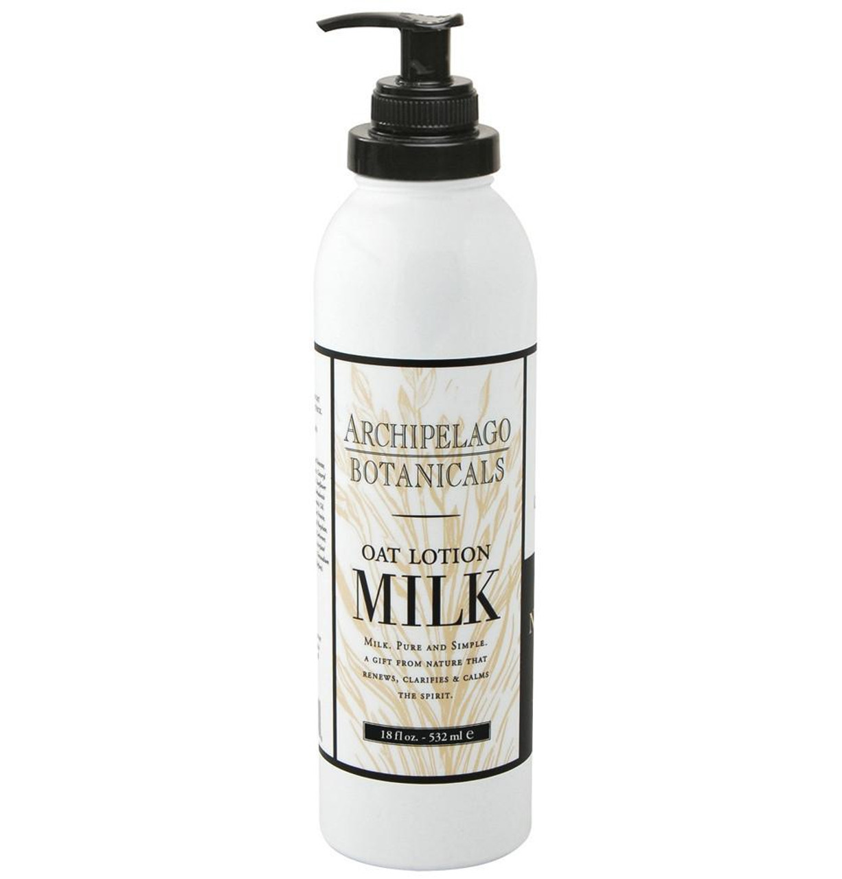 Archipelago Oat Milk Body Lotion 18 oz