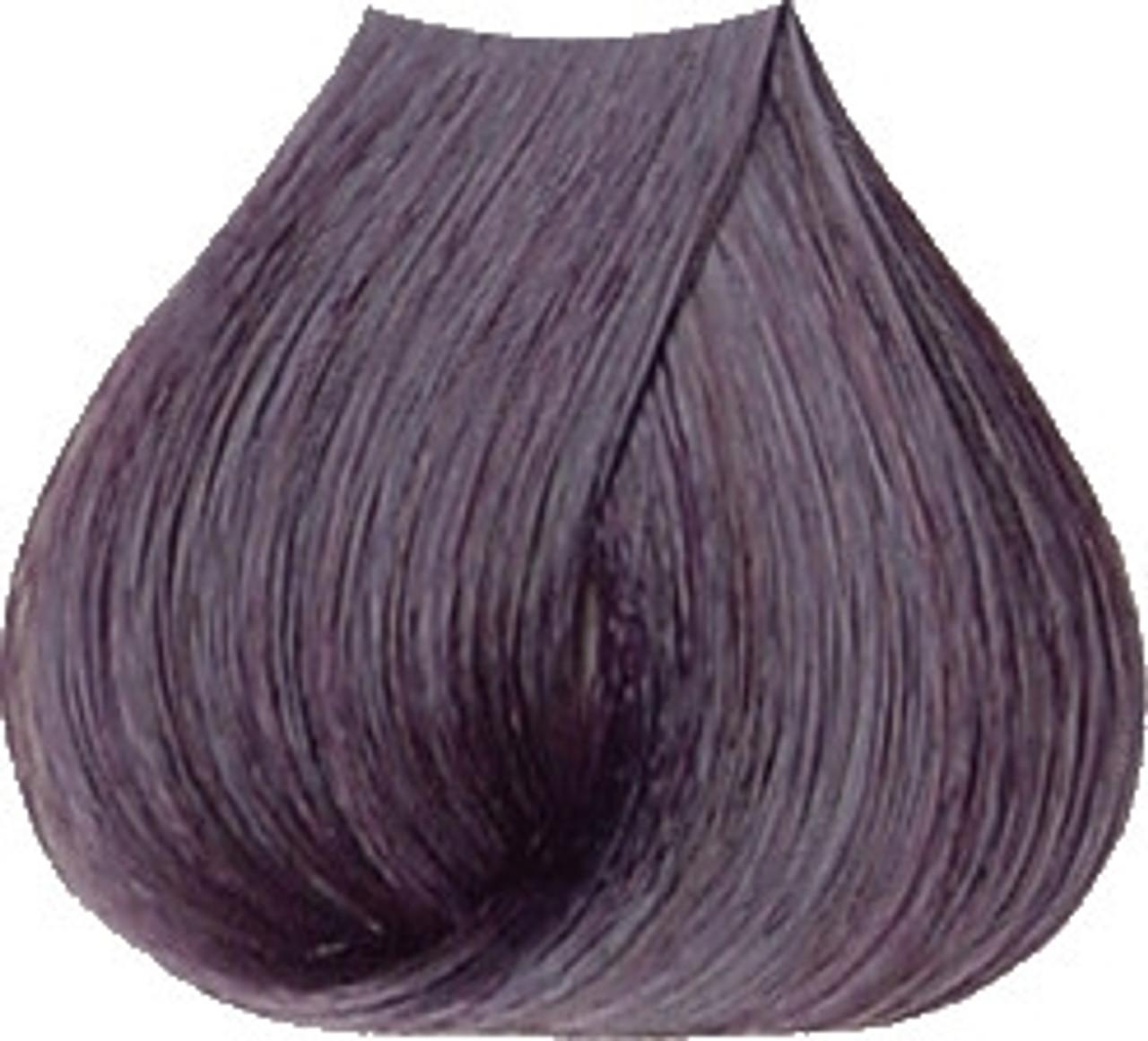 Satin Hair Color - Mahogany - 1V Violet Black