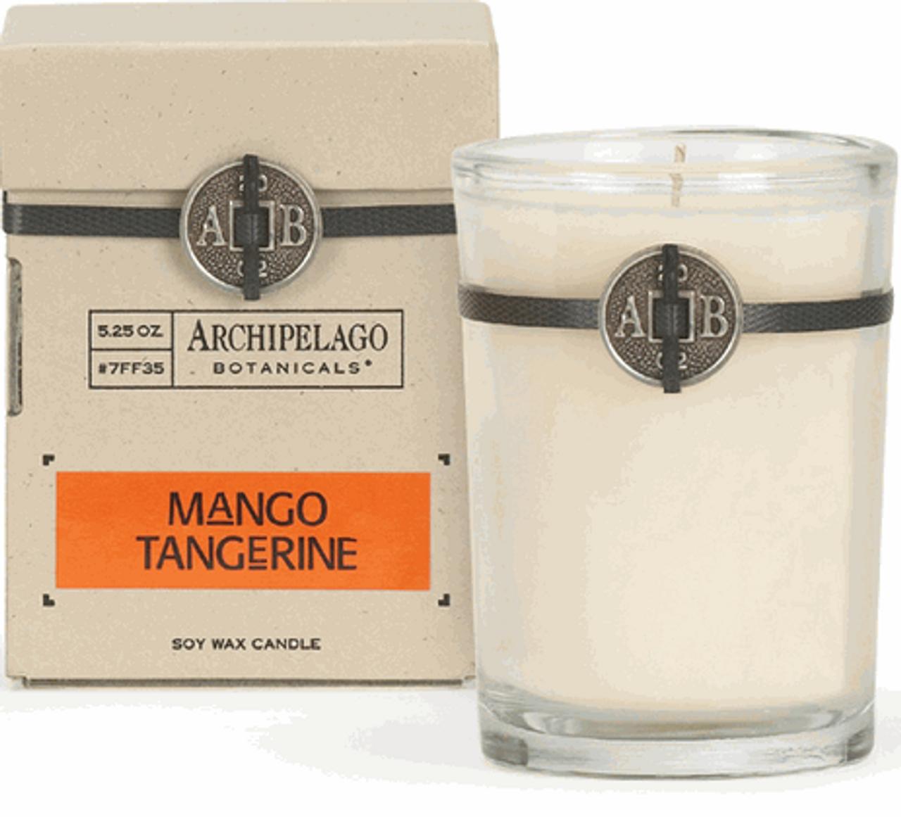 Archipelago Mango Tangerine Soy Candle