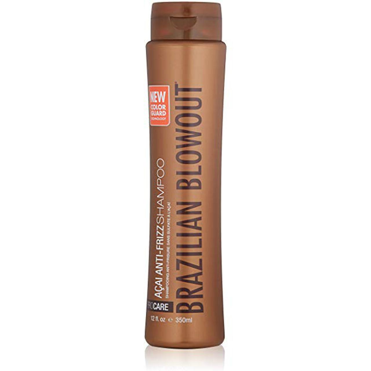 Brazilian Blowout Acai Anti-Frizz Shampoo 12 oz