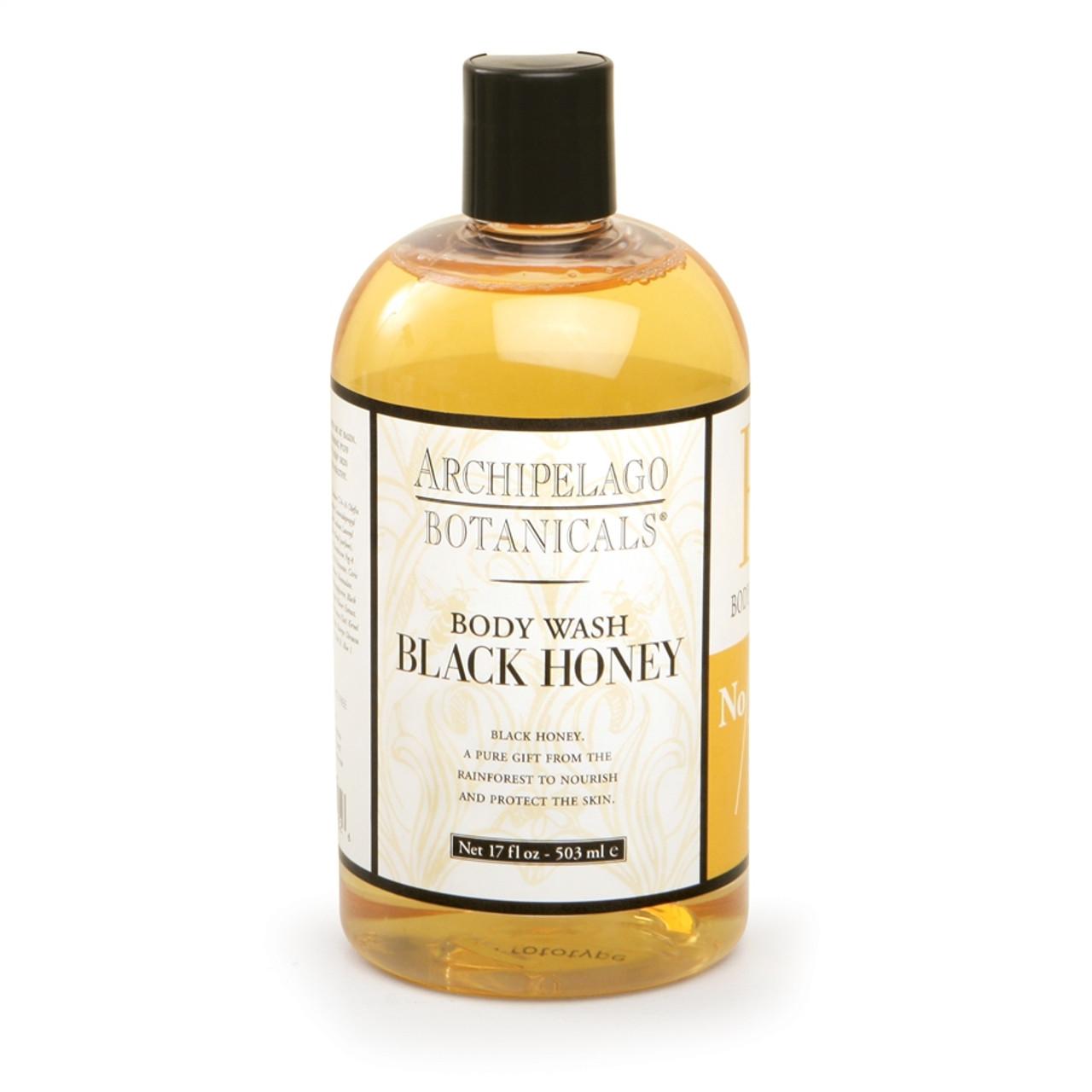 Archipelago Black Honey Body Wash 17 oz