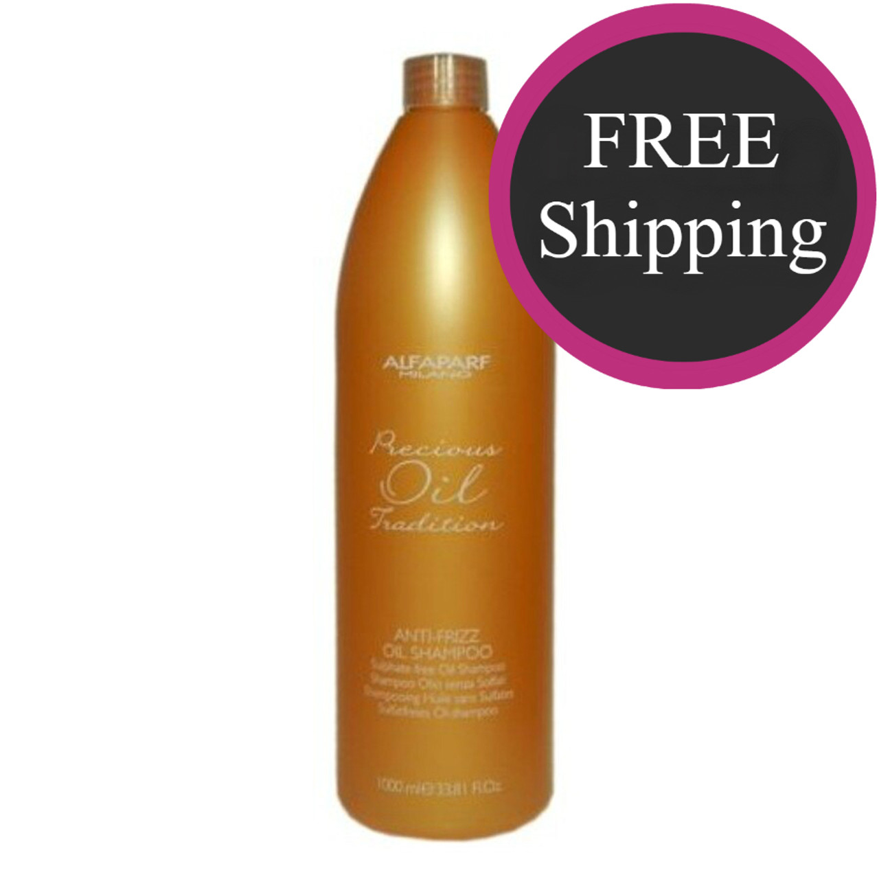 Alfaparf Anti-Frizz Oil Shampoo 1L: Free Shipping
