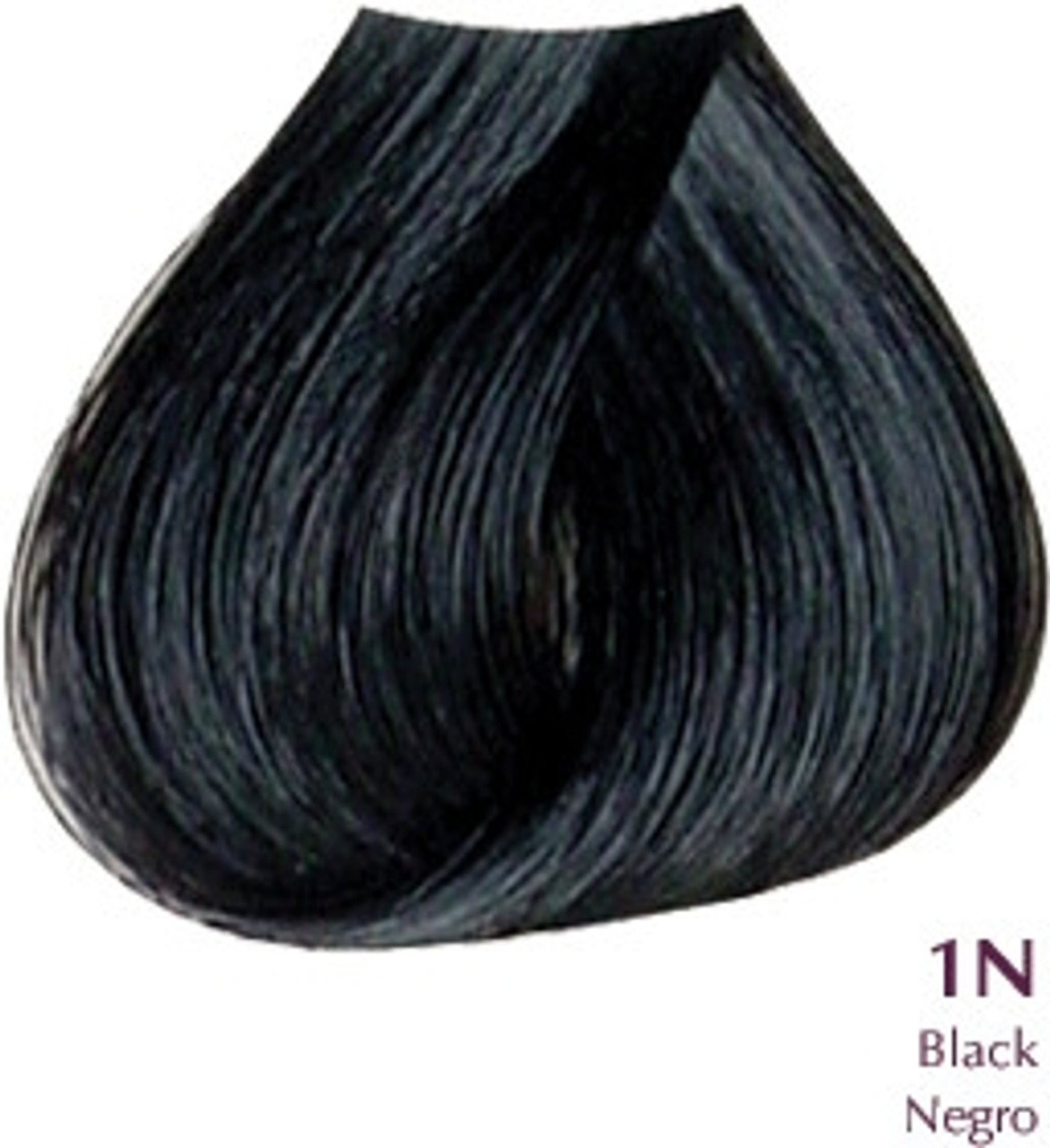 Satin Hair Color - Naturals - 1N Black