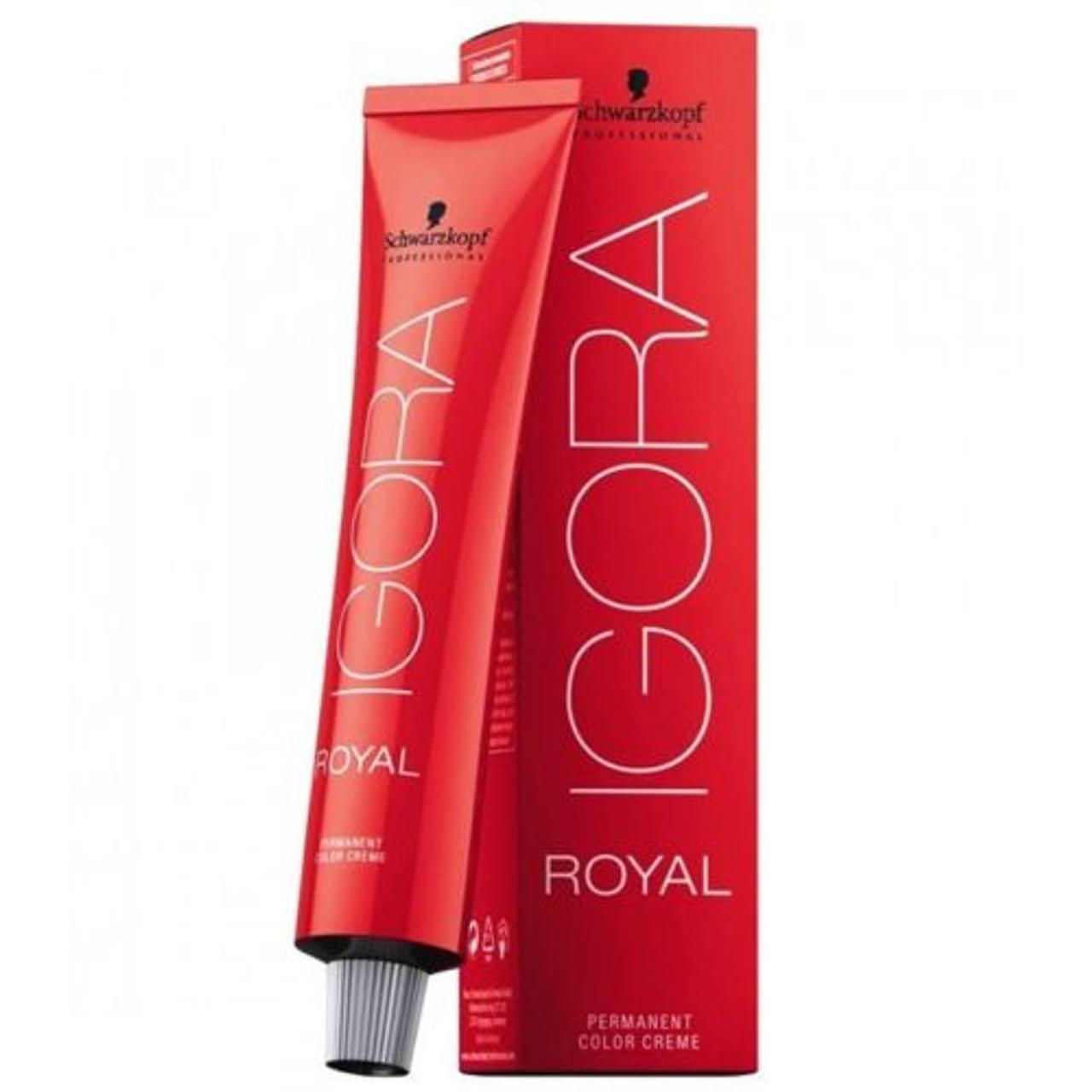Schwarzkopf Igora Royal Permanent Color Creme - 6-77 Dark Copper blonde