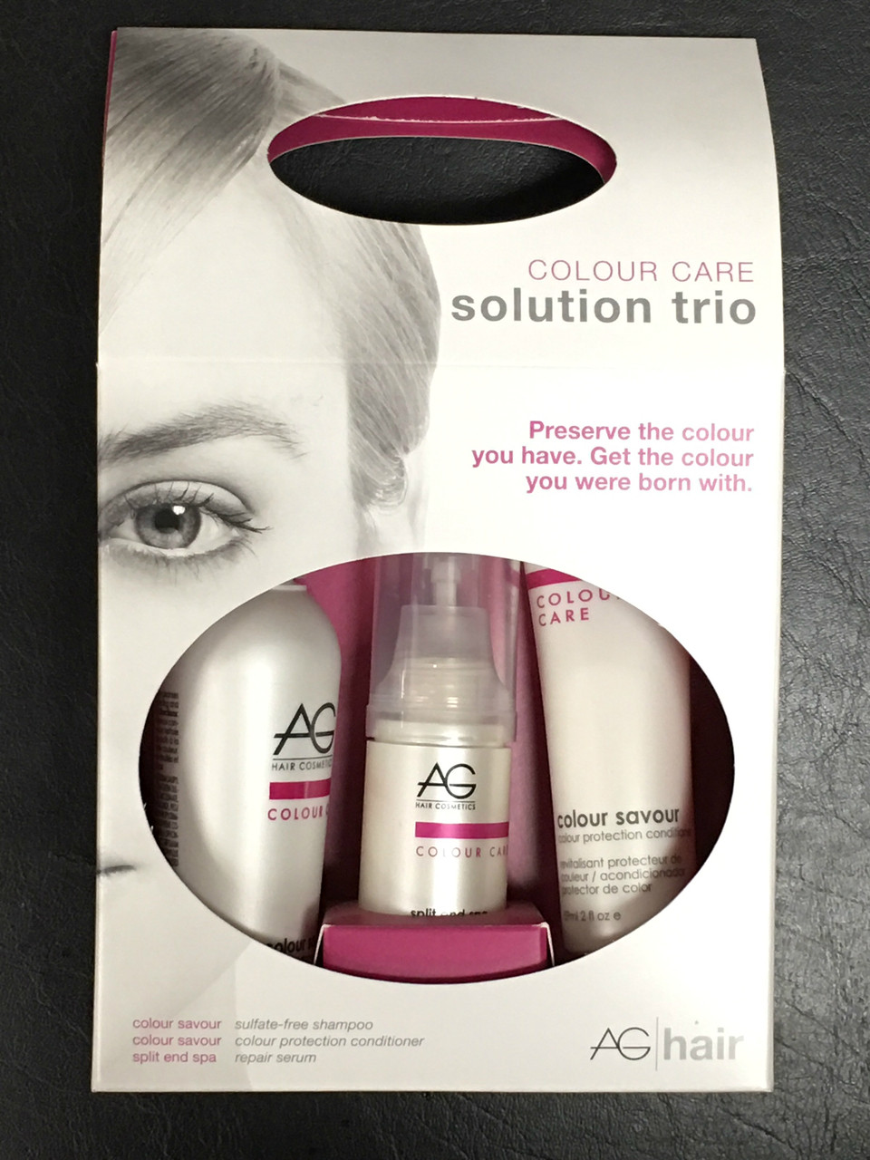 AG Hair Colour Solution Trio Box