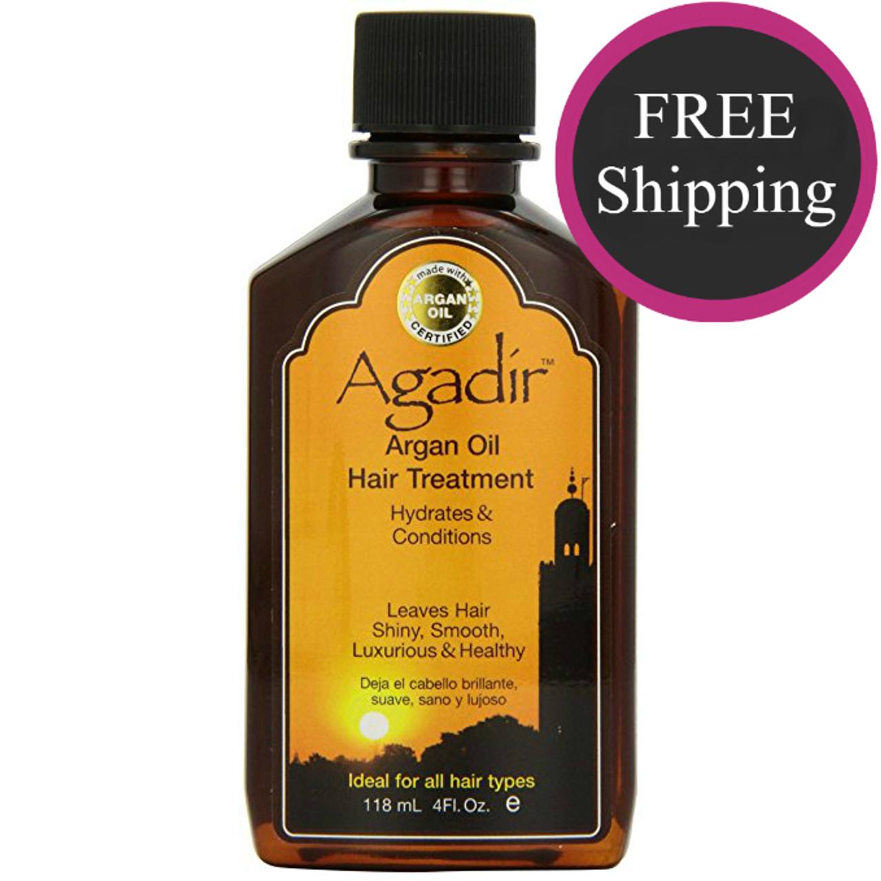 Agadir Argan Oil 4 oz: Free shipping!