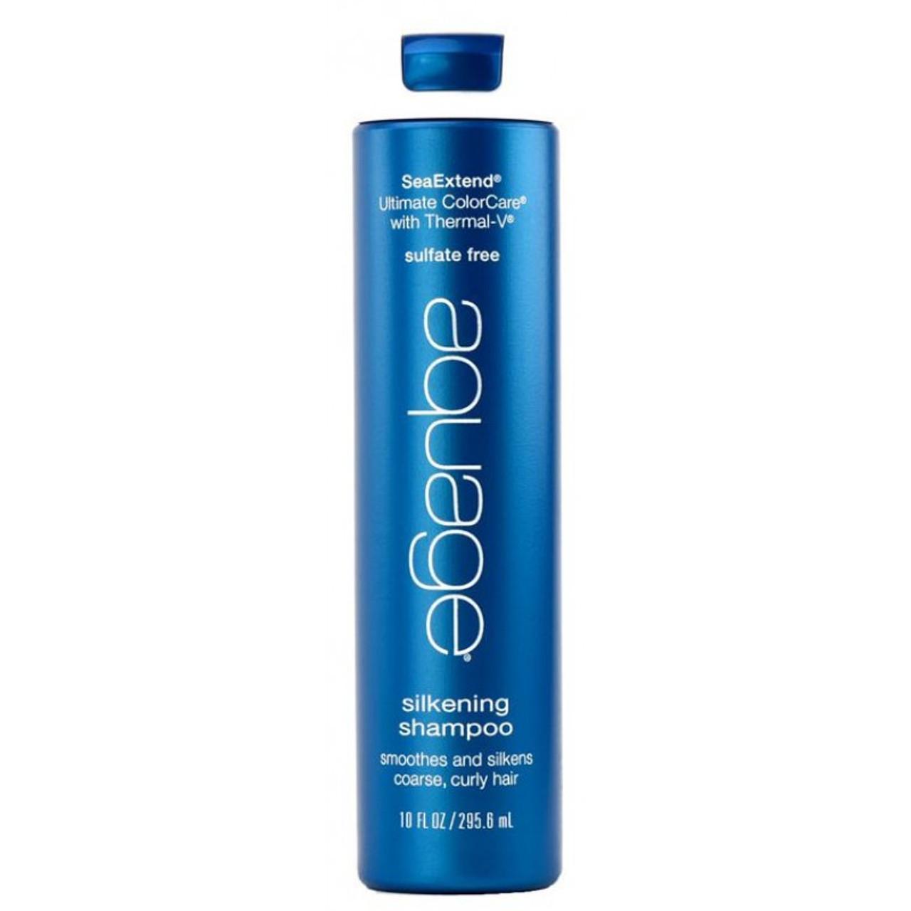 Aquage Silkening Shampoo, 10 oz