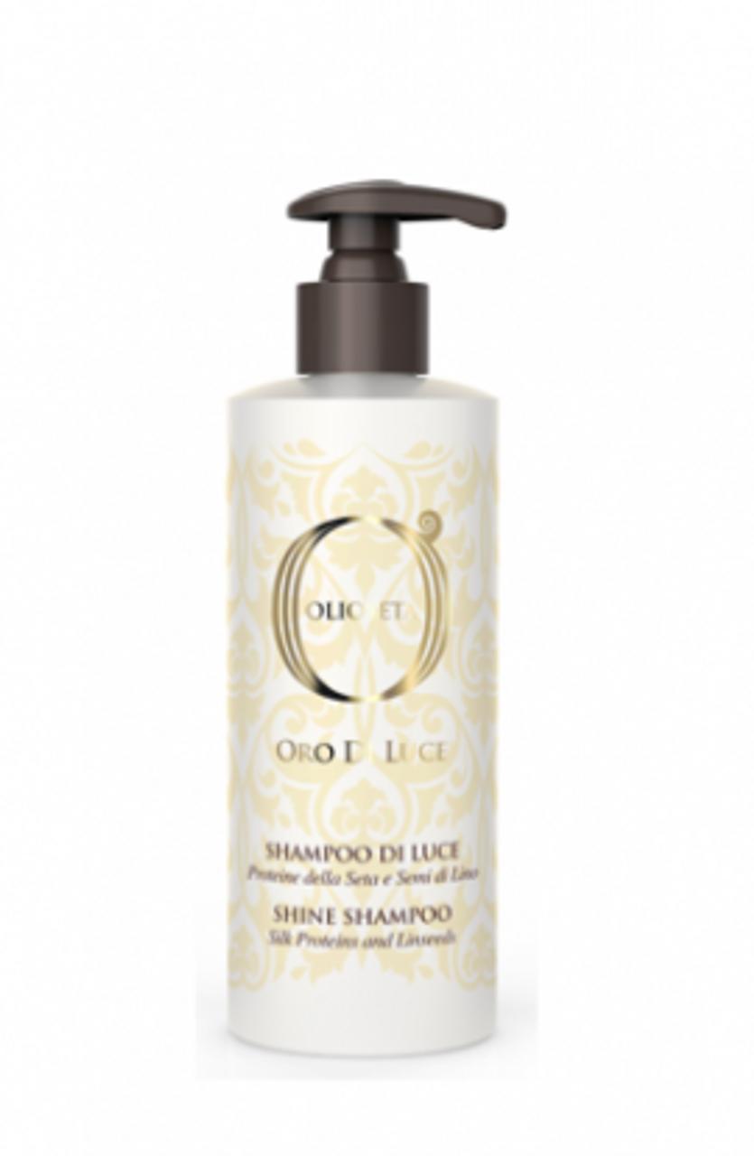 Barex Italiana Oro Di Luce Shine Shampoo, 5.8 fl oz (250 ml)