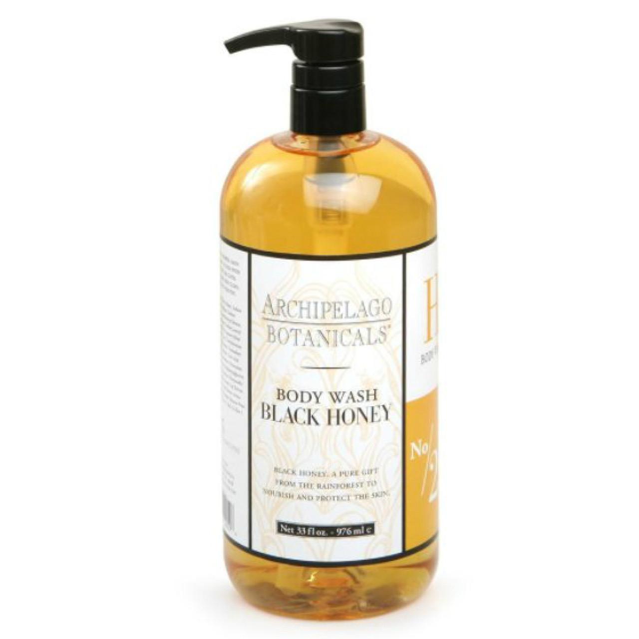 Archipelago Black Honey Body Wash 32 oz