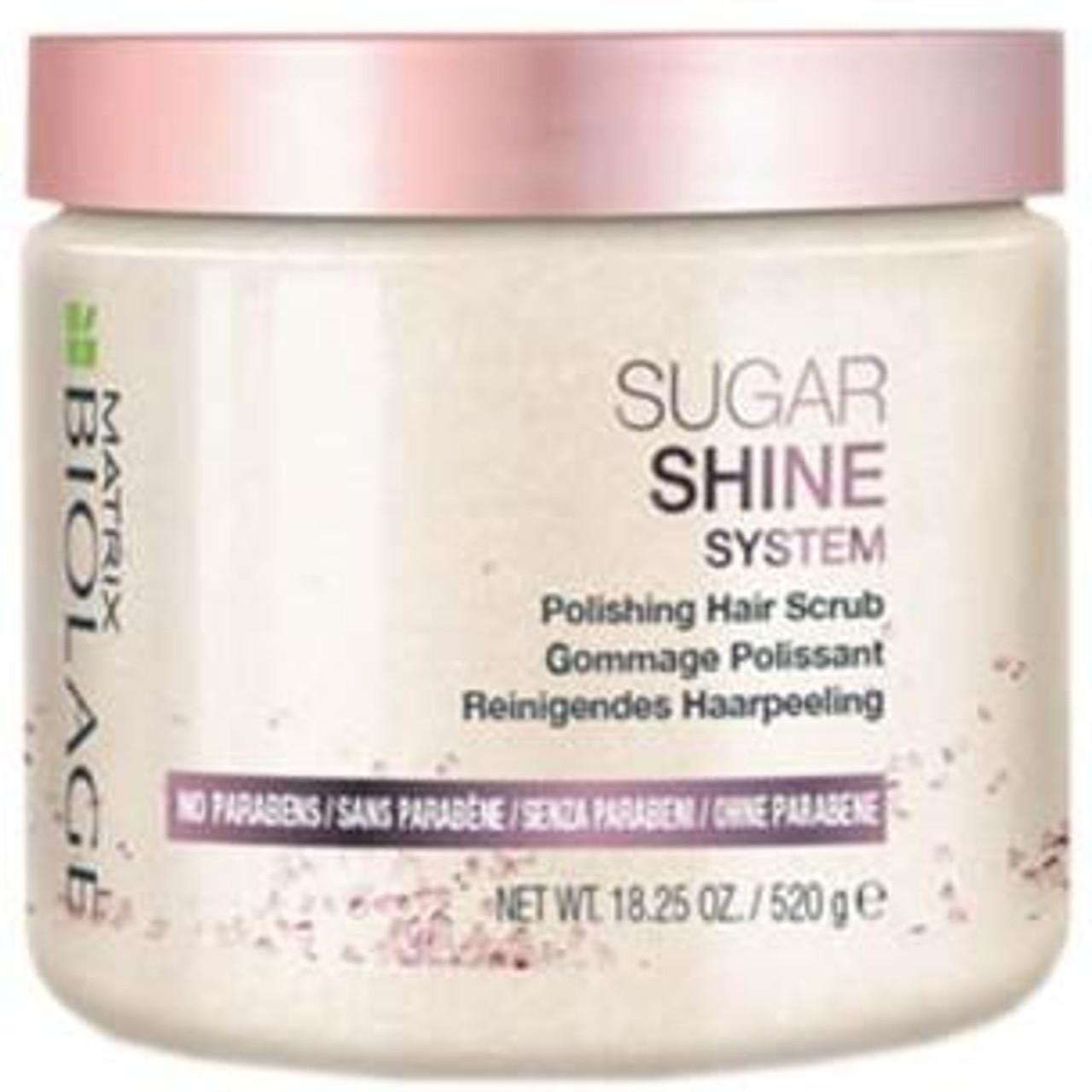 Biolage Sugar Shine Polishing Hair Scrub 18.25 oz