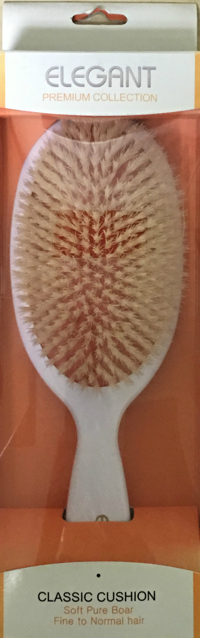 Premium Oval Large Natural Bristle Brush