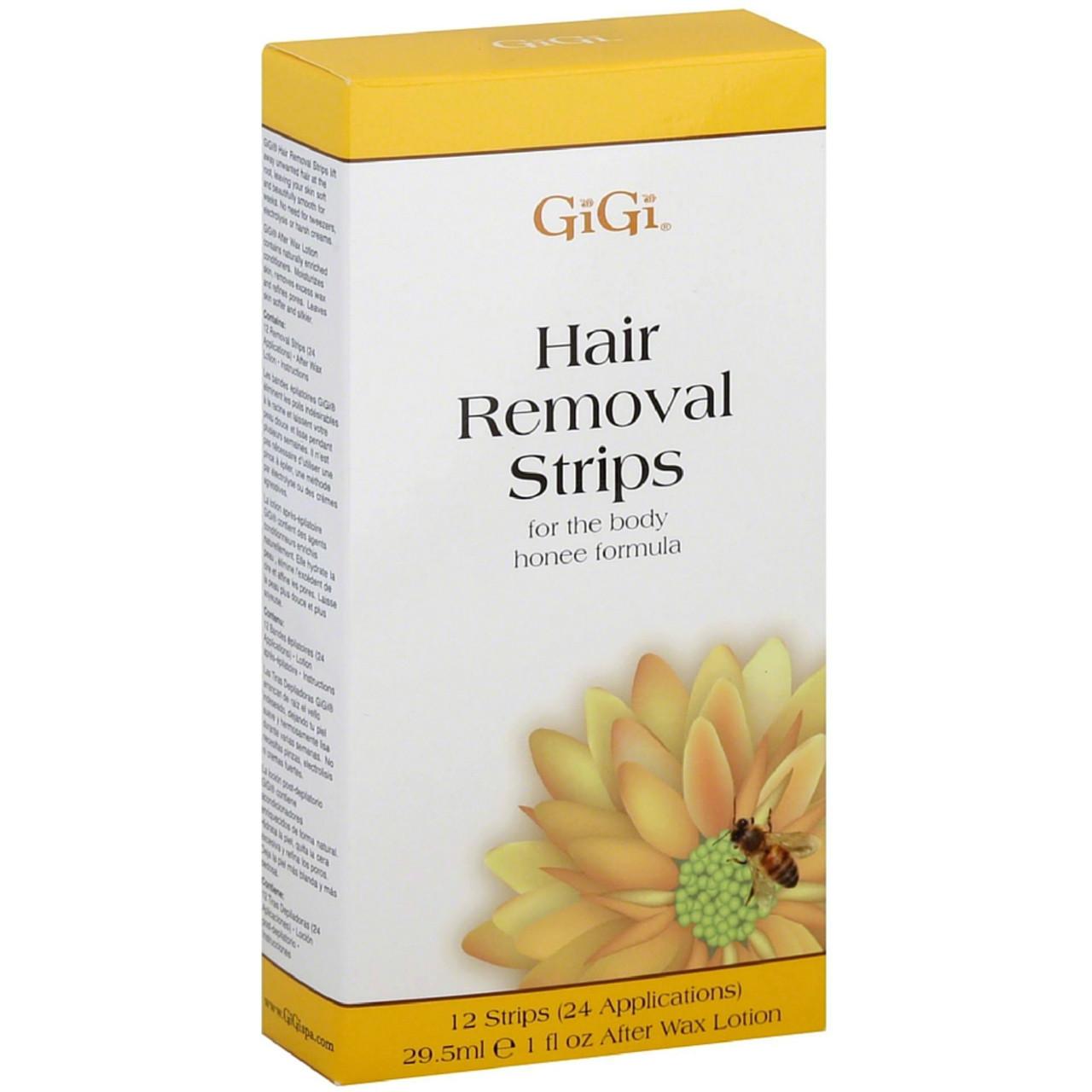 Gigi Hair Removal Strips for The Body