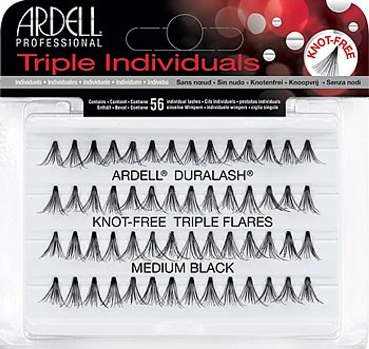 Ardell Knot Free Triple Flare Medium Lash