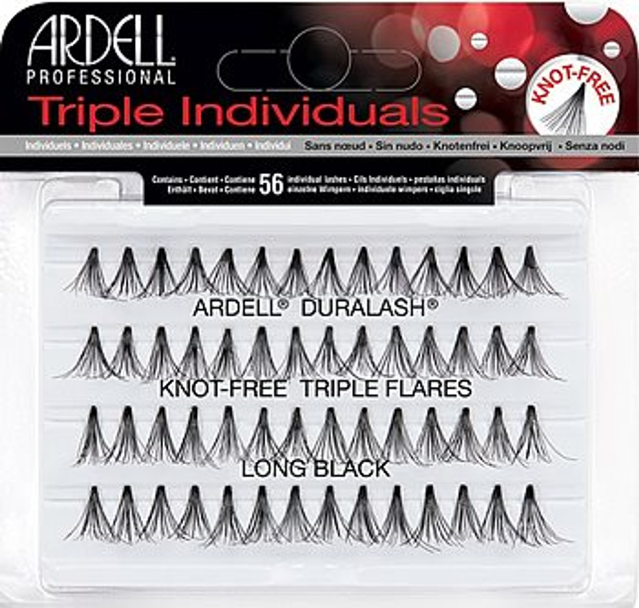 Ardell Knot Free Triple Flare Long Lash