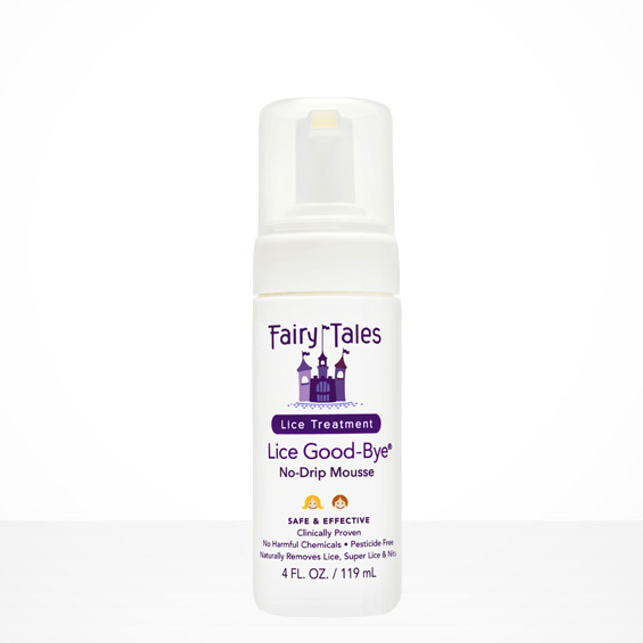 Fairy Tales Lice Good-Bye With Comb