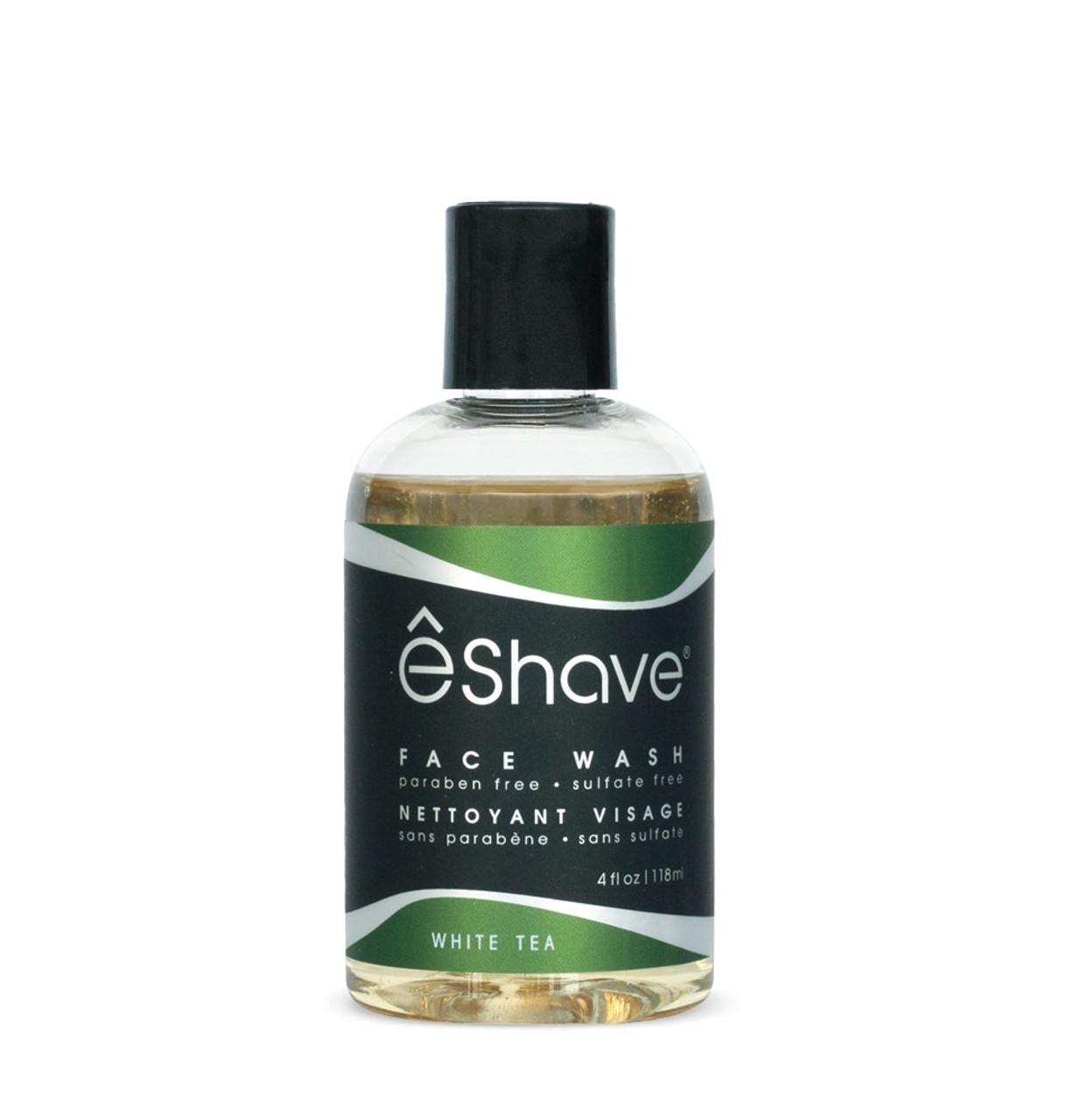 eShave White Tea Face Wash 4 oz