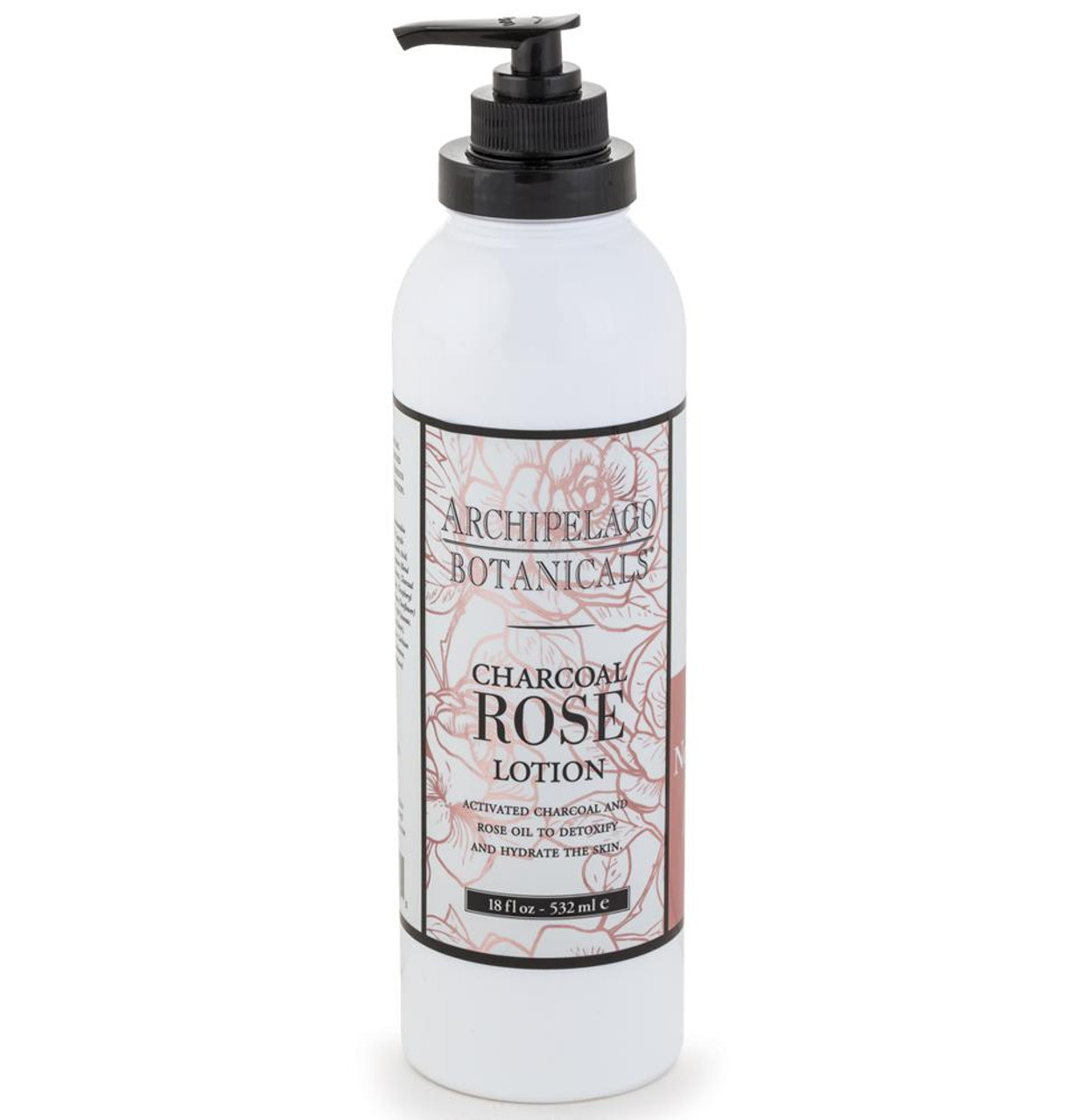 Archipelago Charcoal Rose Lotion