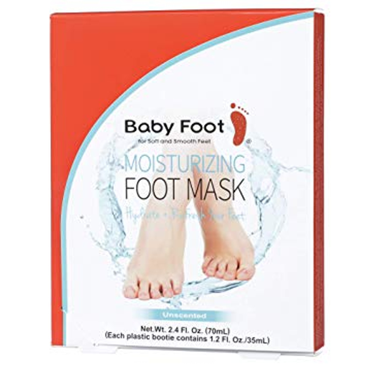 Baby Foot Unscented Moisturizing Foot Mask