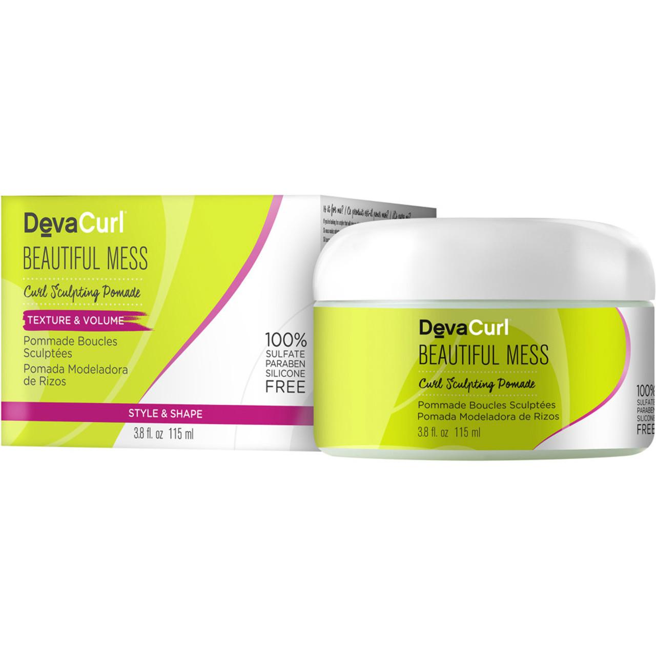 DevaCurl Beautiful Mess Curl Pomade 3.8 oz