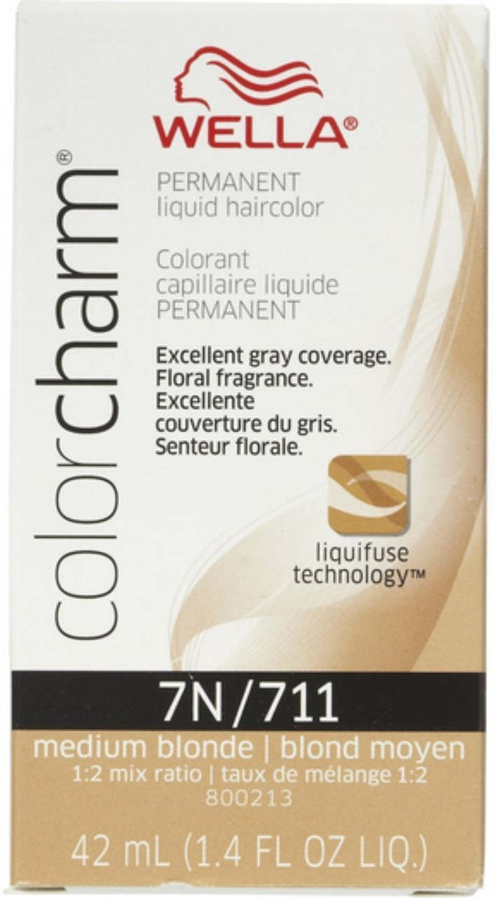 711 Color Charm Medium Blonde