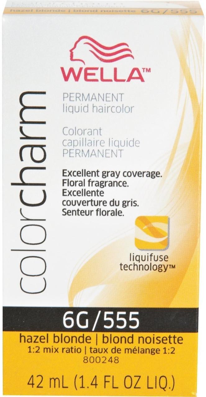 555 Color Charm Hazel Blond