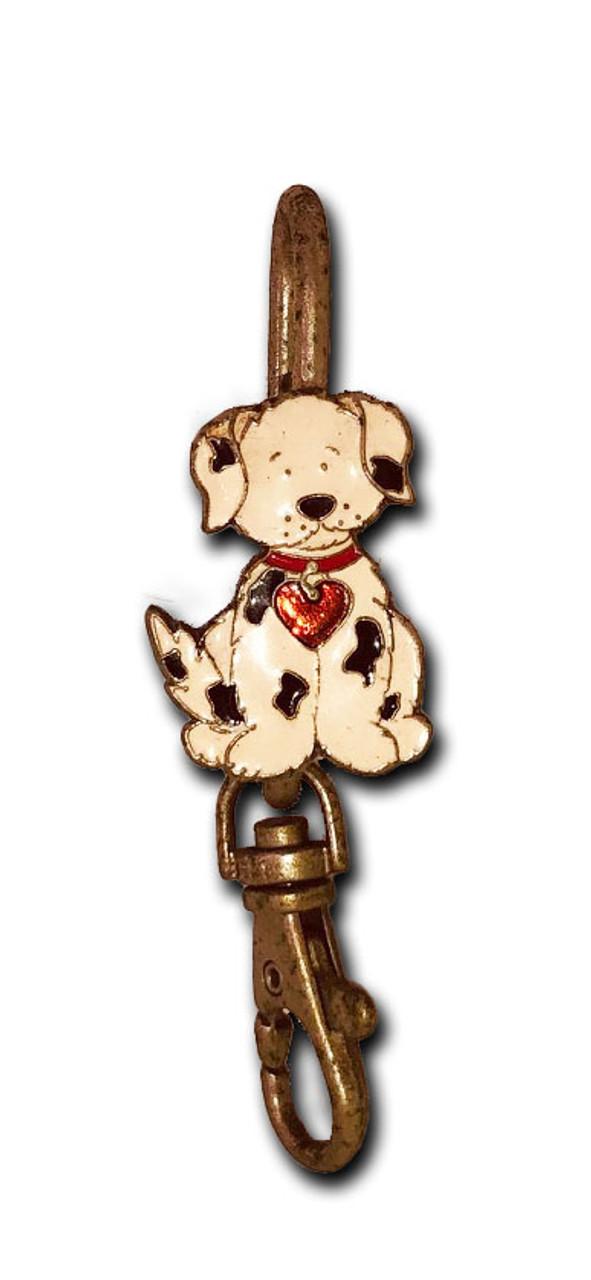 Dog With Heart Key Purse